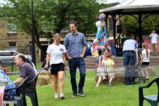 Brendan Cox husband of murdered MP Jo Cox and Kim Leadbeater sister of Jo Cox and founder of the MoreInCommon movement attend a Great Get Together...