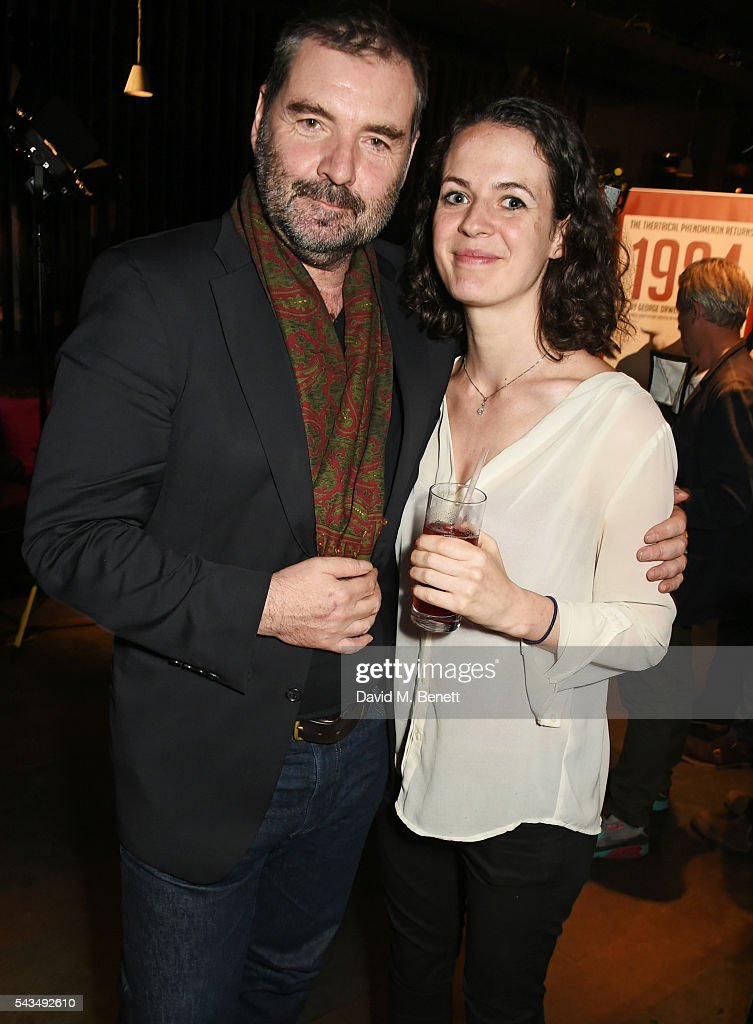 <a gi-track='captionPersonalityLinkClicked' href=/galleries/search?phrase=Brendan+Coyle&family=editorial&specificpeople=7509876 ng-click='$event.stopPropagation()'>Brendan Coyle</a> (L) and Georgia Winters attend the press night after party for '1984' at The Mint Leaf on June 28, 2016 in London, England.