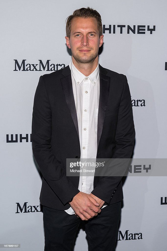 DJ Brendan Fallis attends the 2013 Whitney Art Party at Skylight at Moynihan Station on May 1, 2013 in New York City.