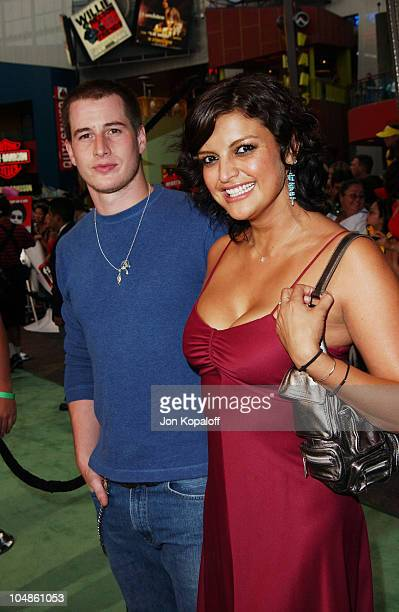 Brendan Fehr and Jennifer Gimenez during World Premiere Of 'The Battle Of Shaker Heights' Arrivals at Universal Citywalk Theatres in Universal City...