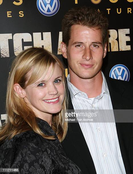 Brendan Fehr and Jennifer Rowley during 'Catch a Fire' Los Angeles Premiere Arrivals at ArcLight Cinemas in Hollywood California United States