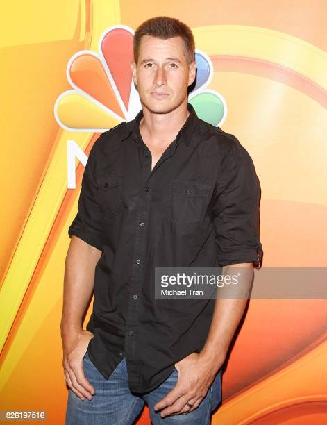 Brendan Fehr arrives to the 2017 Summer TCA Tour NBC Press Tour held at The Beverly Hilton Hotel on August 3 2017 in Beverly Hills California