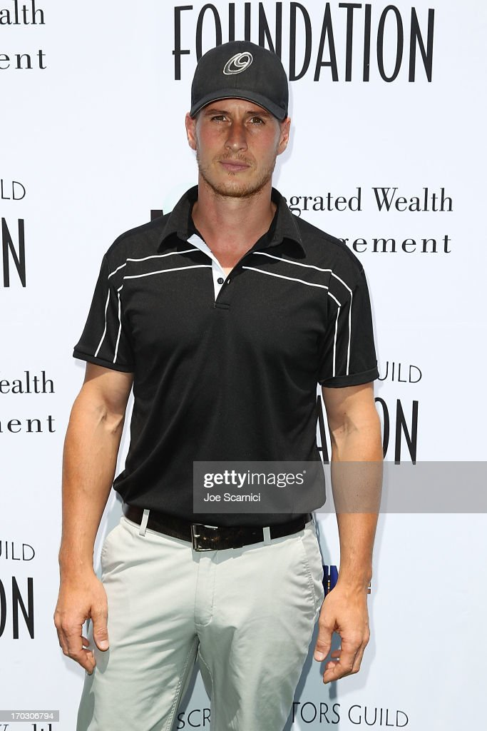 <a gi-track='captionPersonalityLinkClicked' href=/galleries/search?phrase=Brendan+Fehr&family=editorial&specificpeople=1654315 ng-click='$event.stopPropagation()'>Brendan Fehr</a> arrives to the Screen Actors Guild Foundation's 4th annual Los Angeles golf classic at Lakeside Golf Club on June 10, 2013 in Burbank, California.