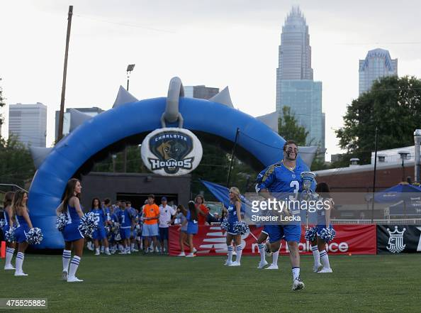 Brendan Fowler of the Charlotte Hounds during their game at American Legion Memorial Stadium on May 30 2015 in Charlotte North Carolina