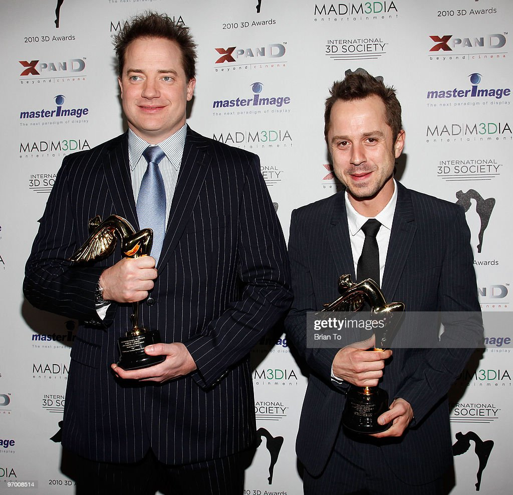 <a gi-track='captionPersonalityLinkClicked' href=/galleries/search?phrase=Brendan+Fraser&family=editorial&specificpeople=209269 ng-click='$event.stopPropagation()'>Brendan Fraser</a> (L) and <a gi-track='captionPersonalityLinkClicked' href=/galleries/search?phrase=Giovanni+Ribisi&family=editorial&specificpeople=540443 ng-click='$event.stopPropagation()'>Giovanni Ribisi</a> attend International 3D Society 'Lumiere Award' presentation at Mann Chinese 6 on February 23, 2010 in Los Angeles, California.