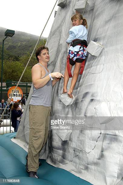 Brendan Fraser at the Target A Time for Heroes Celebrity Carnival Benefitting the Elizabeth Glaser Pediatric AIDS Foundation