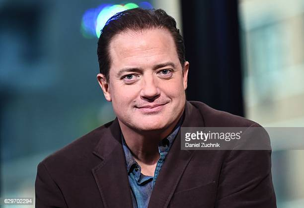 Brendan Fraser attends AOL Build to discuss his role in 'The Affair' at AOL HQ on December 14 2016 in New York City