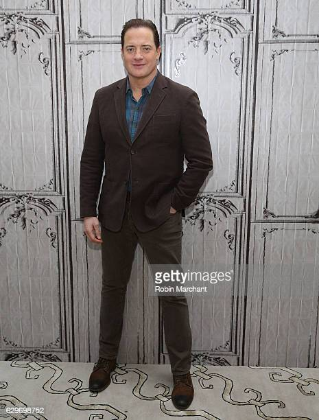 Brendan Fraser attends Build Presents 'The Affair' at AOL HQ on December 14 2016 in New York City