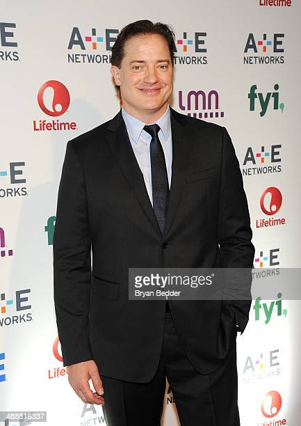 Brendan Fraser attends the 2014 AE Networks Upfront on May 8 2014 in New York City