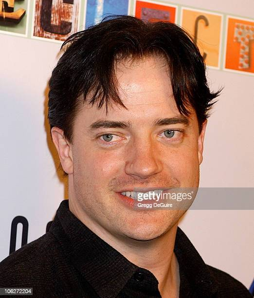 Brendan Fraser during 2005 MidAutumn Night's Dream at The Buffalo Club in Santa Monica California United States