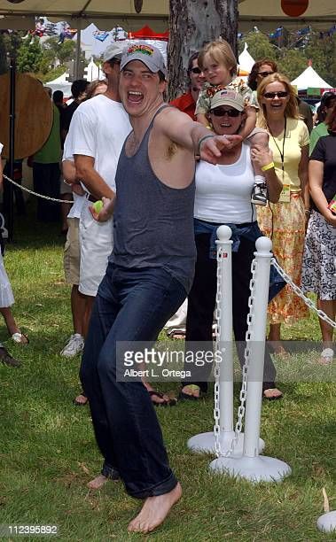 Brendan Fraser during Elizabeth Glaser Pediatric AIDS Foundation 'A Time For Heroes' Celebrity Carnival Inside in Los Angeles California United States