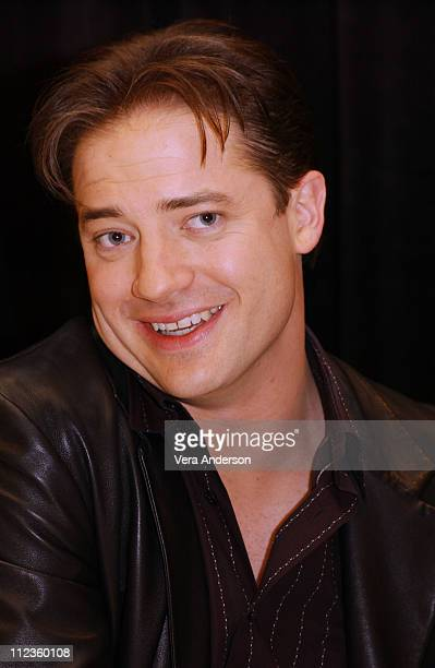 Brendan Fraser during 'Looney Tunes Back in Action' Press Conference with Brendan Fraser Jenna Elfman and Joe Dante at Park Hyatt Hotel in Century...