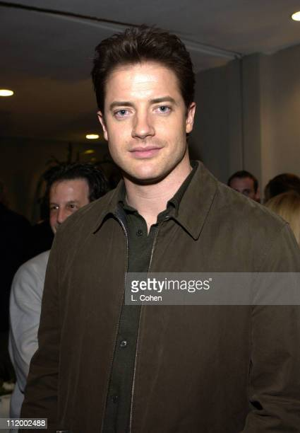 Brendan Fraser during 'The Quiet American' Screening at Harmony Gold in Hollywood CA United States