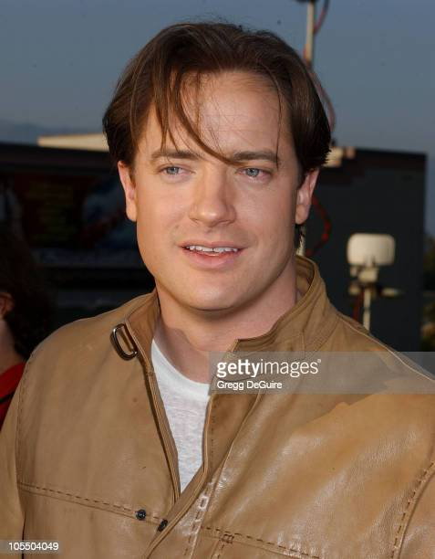 Brendan Fraser during 'The Revenge Of The Mummy The Ride' Opening At Universal Studios at Universal Studios in Universal City California United States