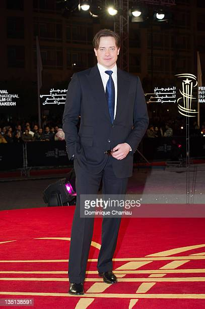 Brendan Frazer attends the 'When The Night' photocall during Marrakech International Film Festival 2011 on December 6 2011 in Marrakech Morocco