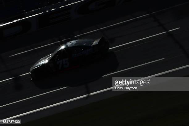 Brendan Gaughan driver of the Beard Oil Distributing Chevrolet drives during the Monster Energy NASCAR Cup Series Alabama 500 at Talladega...