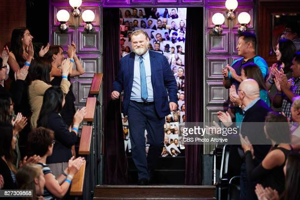 Brendan Gleeson greets the audience during 'The Late Late Show with James Corden' Tuesday August 1 2017 On The CBS Television Network