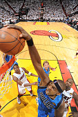 Brendan Haywood of the Dallas Mavericks dunks against the Miami Heat during Game One of the 2011 NBA Finals on May 31 2011 at the American Airlines...