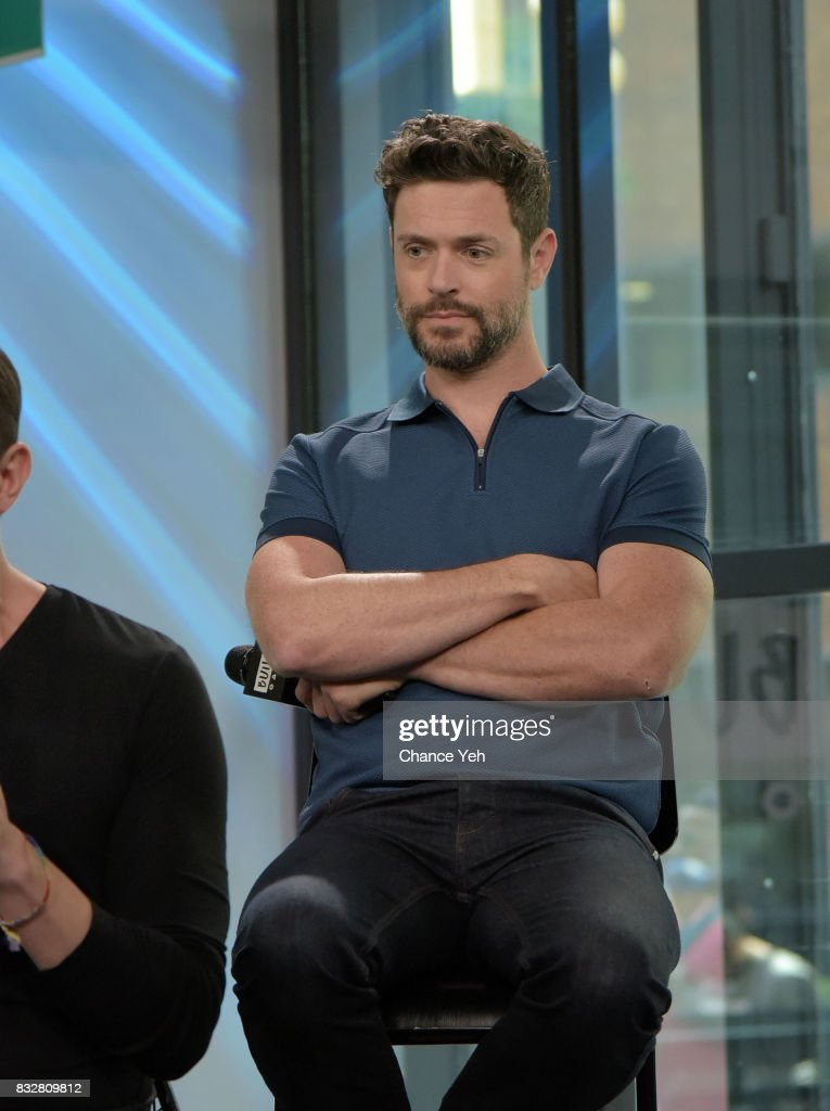 Brendan Hines attends the Build series to discuss 'The Tick' at Build Studio on August 16, 2017 in New York City.
