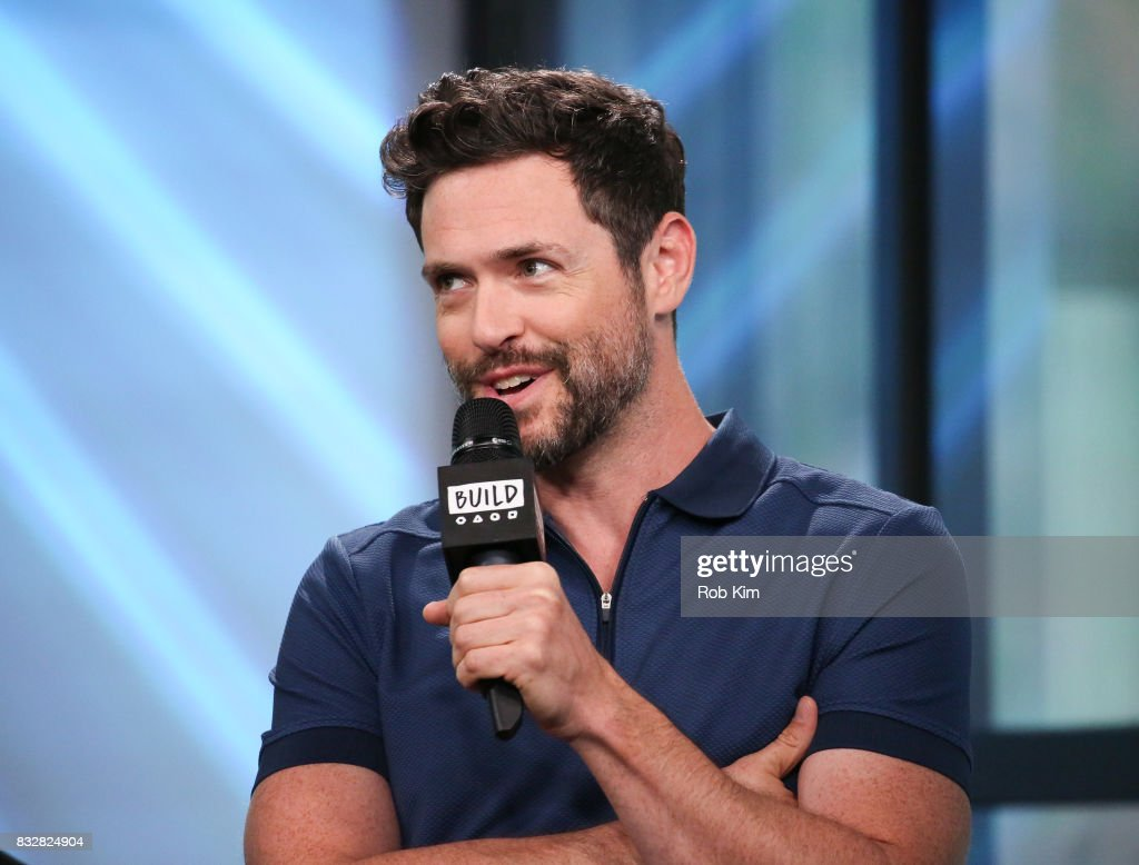 Brendan Hines of 'The Tick' visits at Build Studio on August 16, 2017 in New York City.