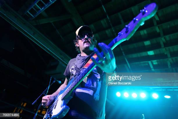 Brendan Kelly of Lawrence Arms performs at House of Vans Chicago on June 22 2017 in Chicago Illinois