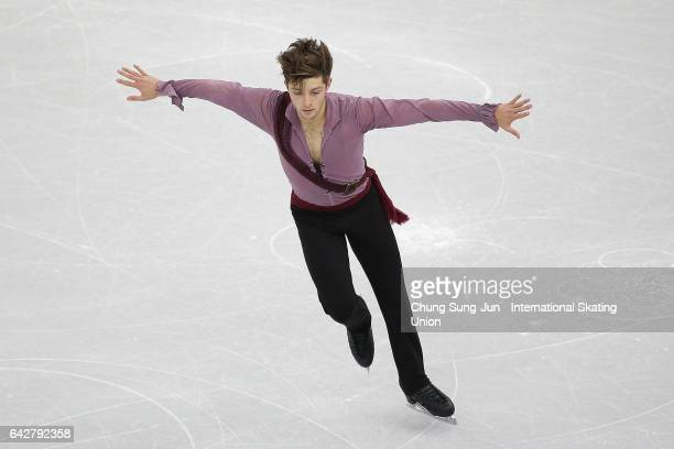 Brendan Kerry of Australia competes in the Men free skating during ISU Four Continents Figure Skating Championships Gangneung Test Event For...