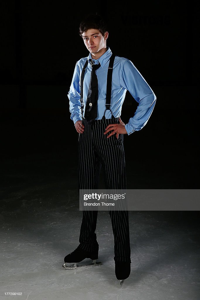 Brendan Kerry of Australia poses following Skate Down Under at Canterbury Olympic Ice Rink on August 22, 2013 in Sydney, Australia.