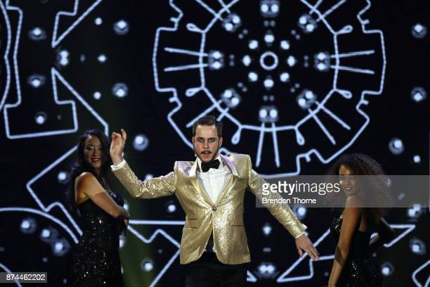 Brendan Maclean performs during the GQ Men Of The Year Awards Ceremony at The Star on November 15 2017 in Sydney Australia