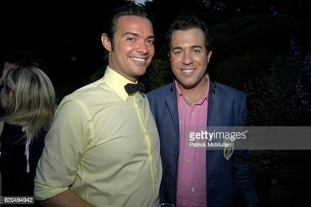 Brendan Monaghan and Kristian Laliberte attend School's Out 2008 benefiting The HetrickMartin Institute home of the Harvey Milk High School at East...