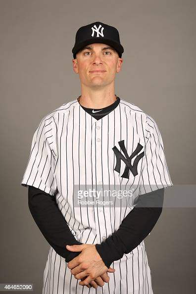 Brendan Ryan of the New York Yankees poses during Photo Day on Friday February 27 2015 at George M Steinbrenner Field in Tampa Florida