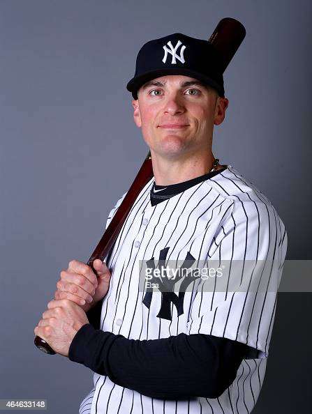 Brendan Ryan of the New York Yankees poses for a portrait on February 27 2015 at George M Steinbrenner Stadium in TampaFlorida
