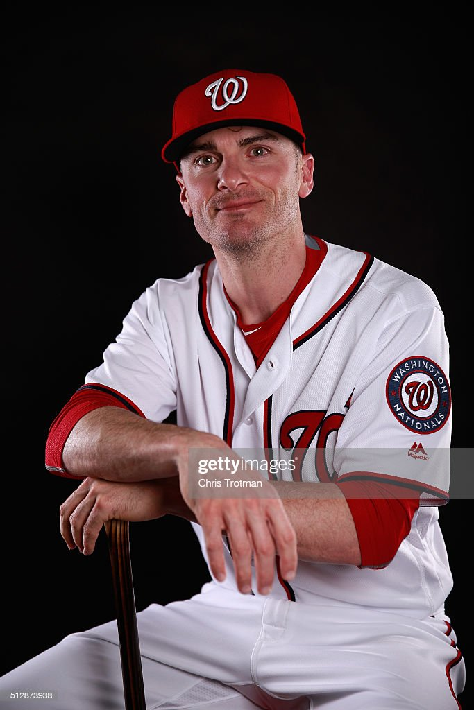Brendan Ryan of the Washington Nationals poses for a portrait at Spring Training photo day at Space Coast Stadium on February 28 2016 in Viera Florida