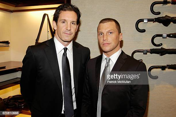 Brendan Shanahan and Sean Avery attend ERMENEGILDO ZEGNA Store Opening  Cocktail Party For The Robin Hood d35dd441c02