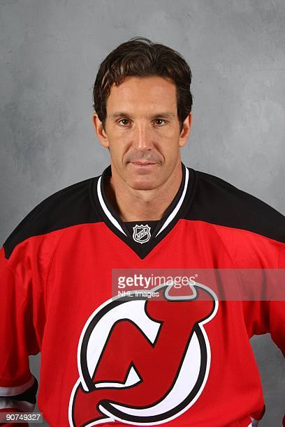 Brendan Shanahan of the New Jersey Devils poses for his official head shot on September 12 2009 at the Prudential Center in Newark New Jersey