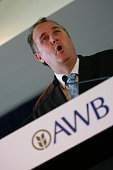AWB Brendan Stewart from AWB at a press conference 29th November 2006 THE AGE NEWS Photo by JASON SOUTH