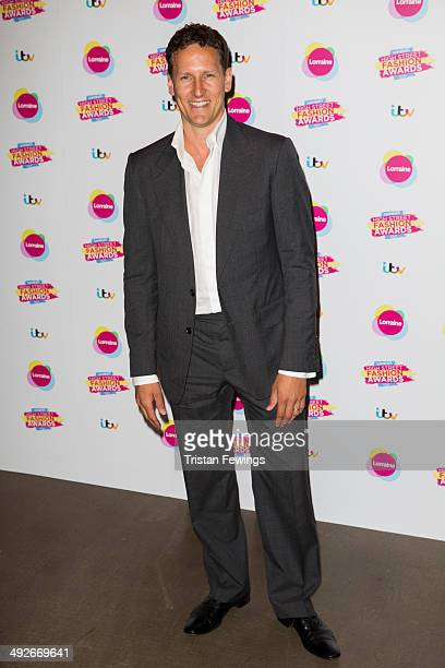 Brendon Cole attends Lorraine's High Street Fashion Awards on May 21 2014 in London England