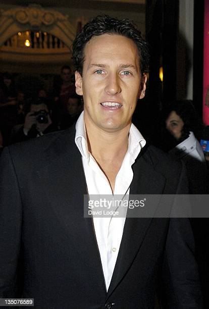 Brendon Cole during 'Dirty Dancing' The Classic Story on Stage Arrivals at Aldwych Theatre in London Great Britain