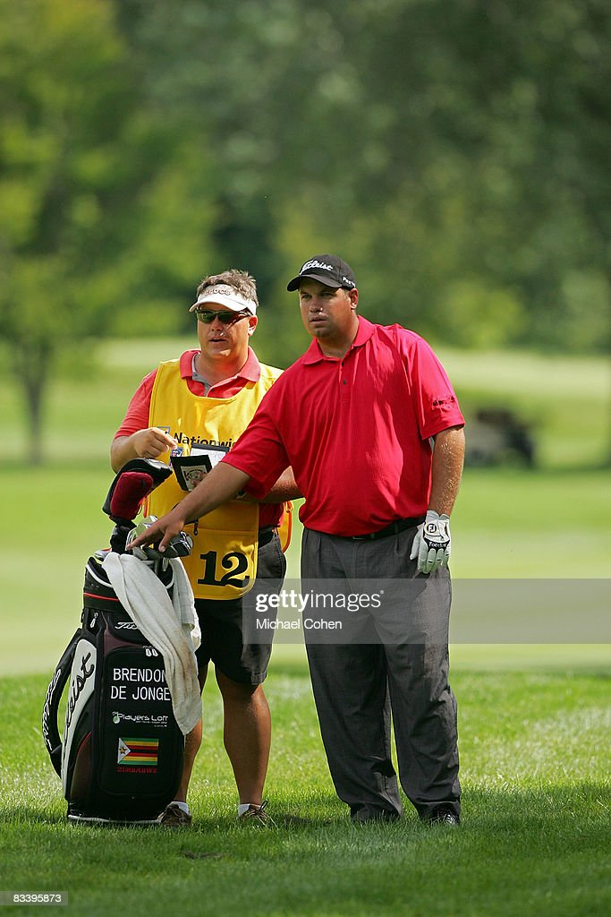 Brendon De Jonge during the third round of the Xerox Classic at the Irondequoit Country Club held on August 16, 2008 in Rochester, New York.