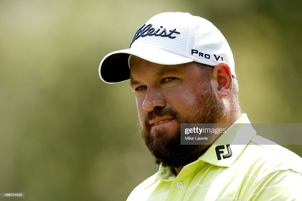 Brendon de Jonge of Zimbabwe walks off the second tee during the third round of the Valspar Championship at Innisbrook Resort Copperhead Course on...