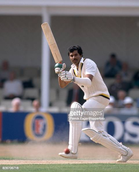 Brendon Kuruppu batting for Sri Lanka during the tour match between Hampshire and the Sri Lankans at the County Ground Southampton 13th September 1990