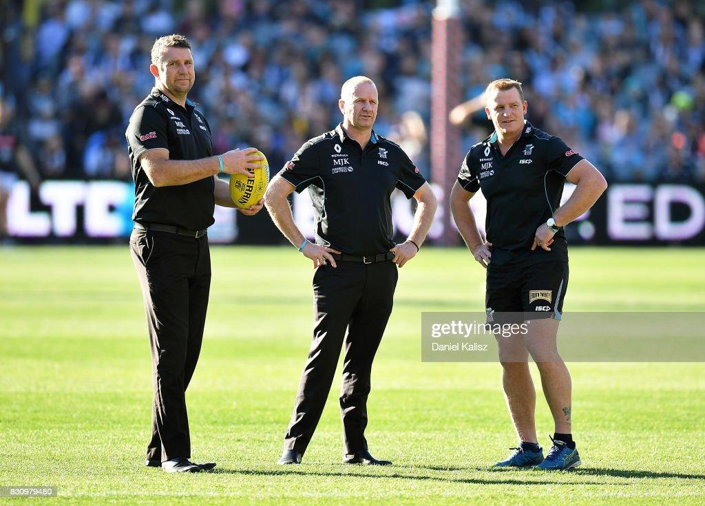 AFL Rd 21 - Port Adelaide v Collingwood