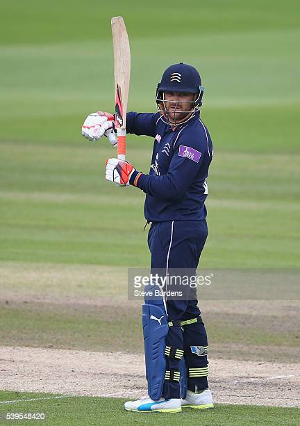 Brendon McCullum of Middlesex during the Royal London One Day Cup match between Sussex and Middlesex at The 1st Central County Ground on June 12 2016...