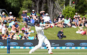 Brendon McCullum of New Zealand bats during day one of the First Test match between New Zealand and Sri Lanka at University Oval on December 10 2015...