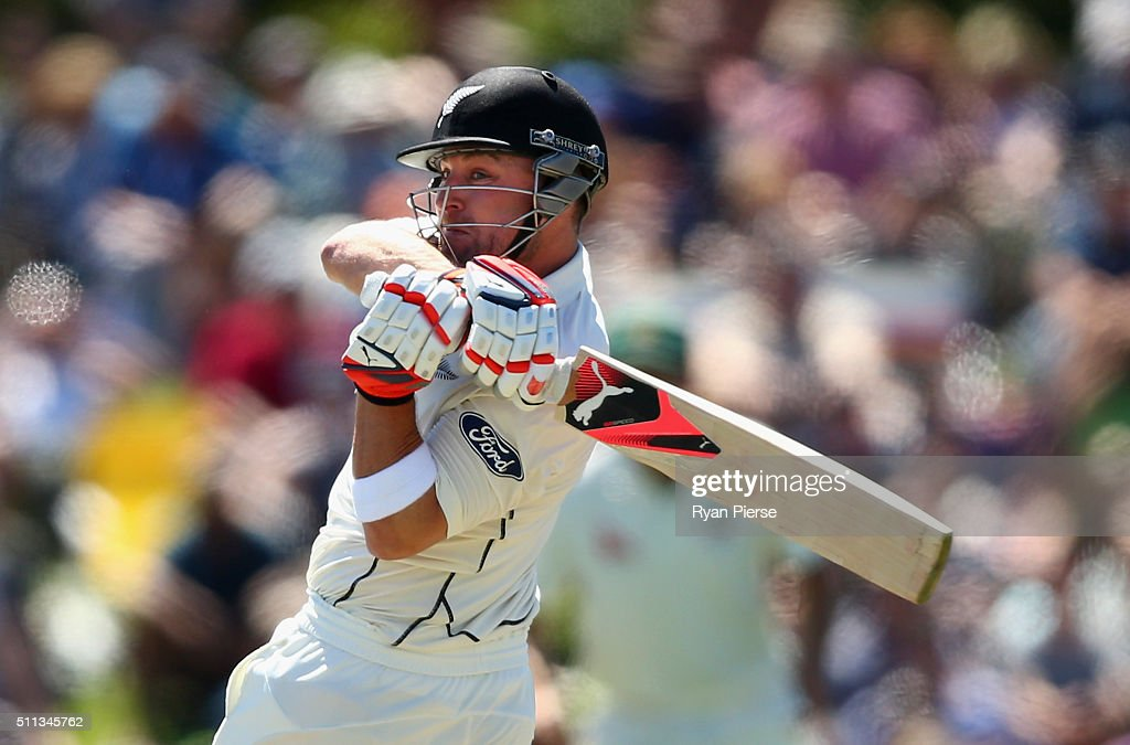New Zealand v Australia - 2nd Test: Day 1 : News Photo