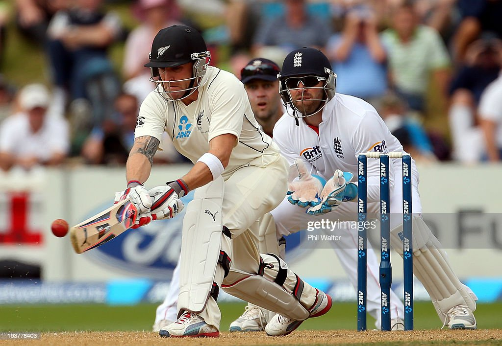 <a gi-track='captionPersonalityLinkClicked' href=/galleries/search?phrase=Brendon+McCullum&family=editorial&specificpeople=208154 ng-click='$event.stopPropagation()'>Brendon McCullum</a> of New Zealand plays a reverse sweep during day three of the second Test match between New Zealand and England at Basin Reserve on March 16, 2013 in Wellington, New Zealand.