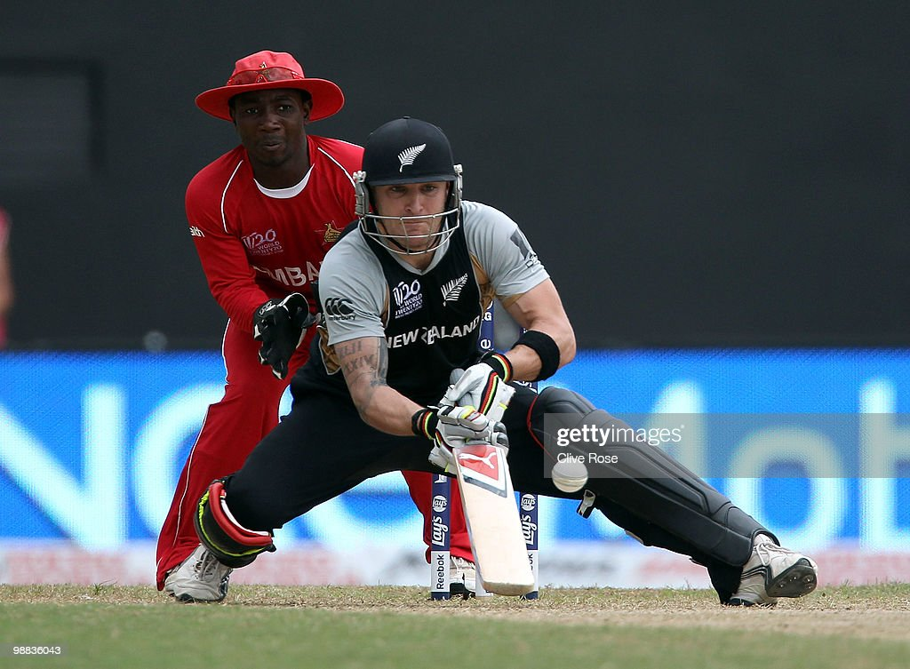 New Zealand v Zimbabwe - ICC T20 World Cup : News Photo