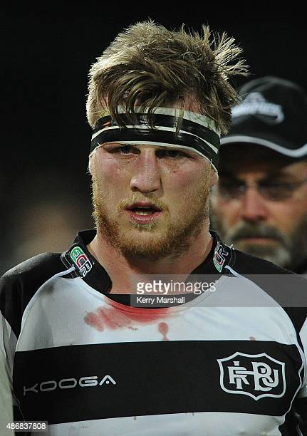 Brendon O'Connor of Hawkes Bay during the ITM Cup match between Hawke's Bay and North Harbour on September 5 2015 in Napier New Zealand