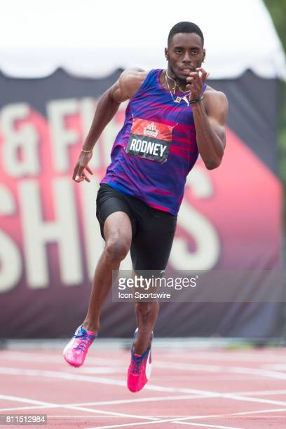 Brendon Rodney in the at the Canadian Track and Field Championships on 8 July 2017 at the Terry Fox Athletic Facility in Ottawa Canada