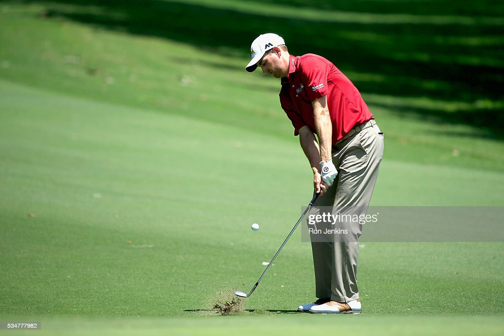 <a gi-track='captionPersonalityLinkClicked' href=/galleries/search?phrase=Brendon+Todd&family=editorial&specificpeople=4402026 ng-click='$event.stopPropagation()'>Brendon Todd</a> hits a shot on the fifth hole during the Second Round of the DEAN & DELUCA Invitational at Colonial Country Club on May 27, 2016 in Fort Worth, Texas.