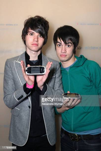 Brendon Urie and Ryan Ross Panic at the Disco at T Mobile